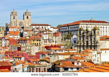 View Of Old Porto