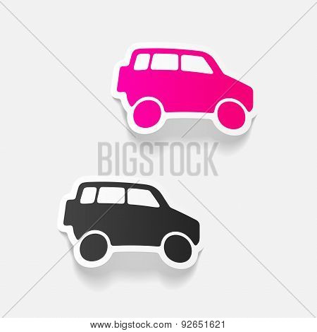 realistic design element: car SUV