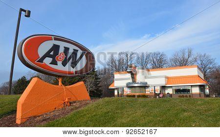 A&W Store Logo