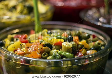 Iranian pickles market