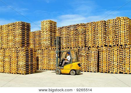 Pallets Warehouse