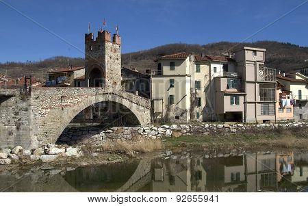 Typical Hinterland Ligurian Village