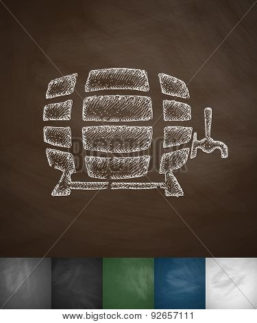 keg of beer icon