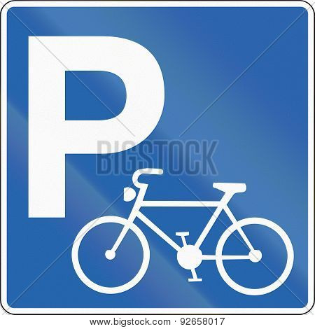 Bicycle Parking In Iceland