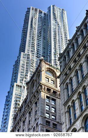 8 Spruce Street Residential Skyscraper - New York