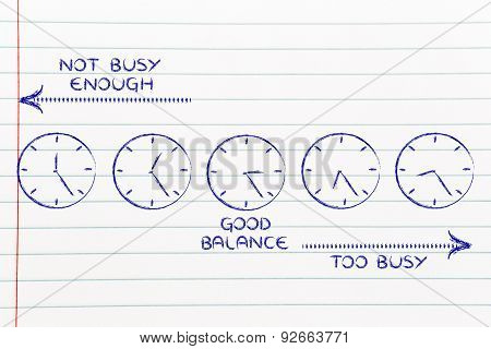 Time Management At Work: Too Busy Or Not Enough