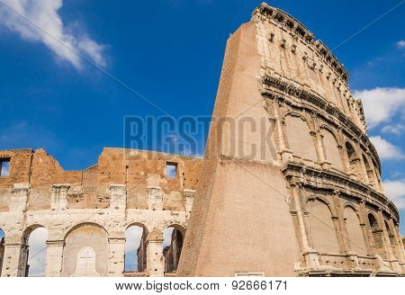 Colosseum, Back Side View