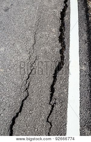 The Road Has Cracks.