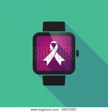 Smart Watch With A Ribbon