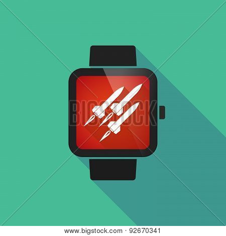 Smart Watch With Missiles