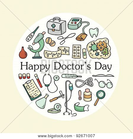 Doctor's Day Greeting Card