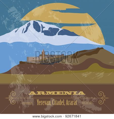 Armenia  infographics, statistical data, sights