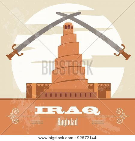 Iraq  infographics, statistical data, sights