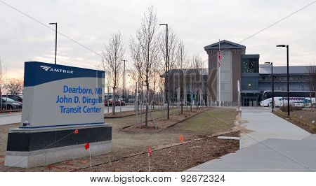 Dearborn John Dingell Transit Center
