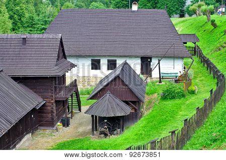 old polish farmhouse