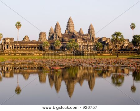 Angkor Wat In The Evening Light