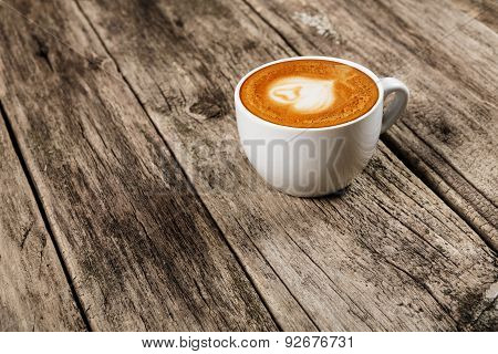 Coffee Concept - Cup Of Latte
