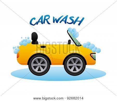 car wash graphic design , vector illustration