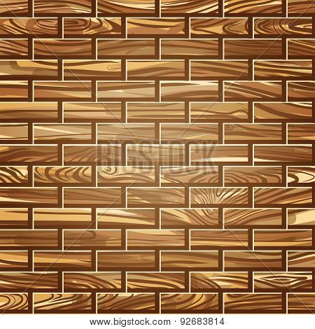 Wood lines vector pattern background. EPS illustrtion