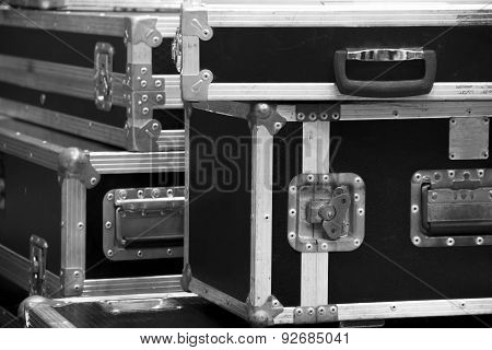 Aluminium Wooden Flight Case For Dj Box, Instrument Tools