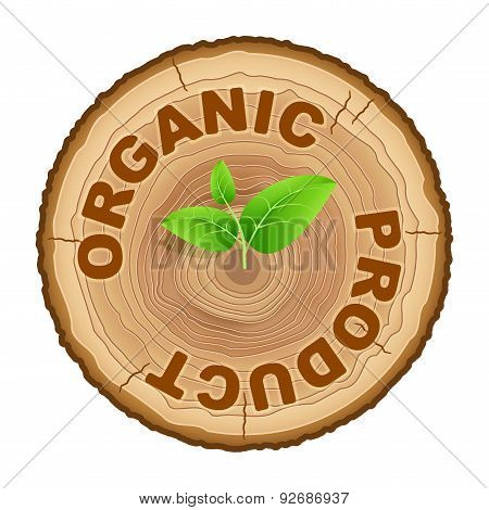 Icon of organic products.