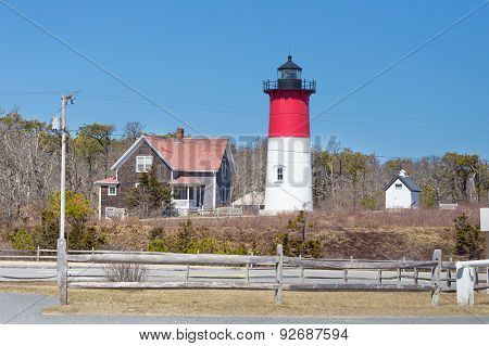 Nauset Lighthouse In Cape Cod