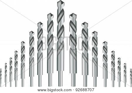 drill bits for iron