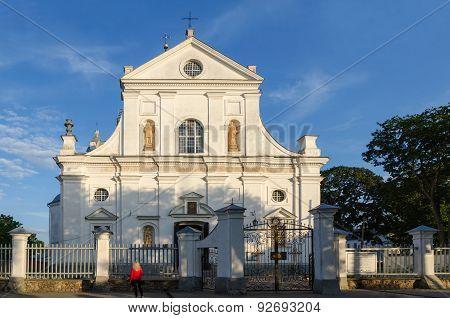 Belarus, Nesvizh, Corpus Christi Church