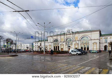 Railway Station In Vitebsk, Belarus