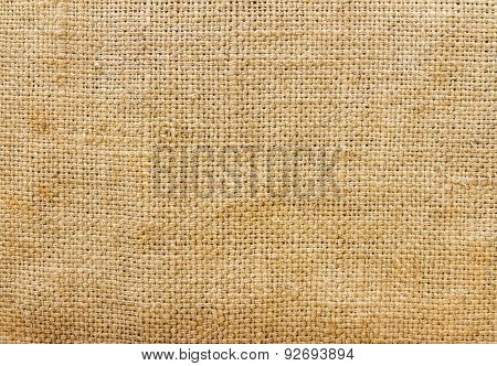 Brown Sack Taxture Background.