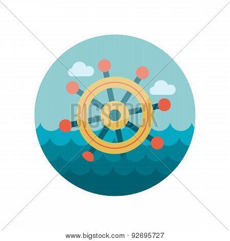 Helm flat icon
