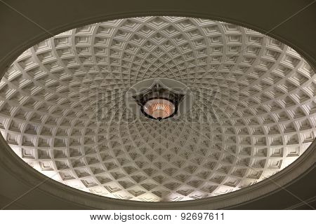 Ceiling Of The Palace