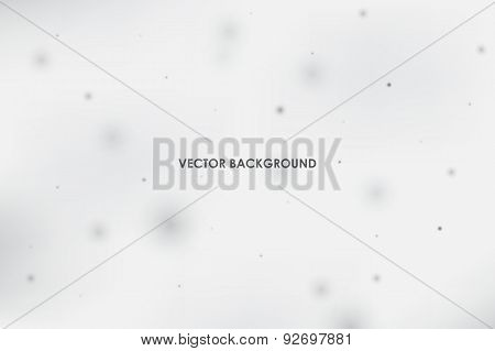 Abstract vector background with scientific space particles
