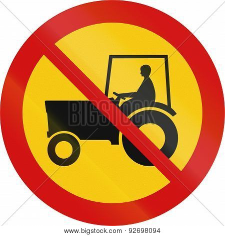 No Tractors In Iceland