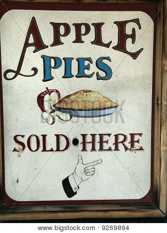 Apple Pies Sold Here
