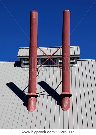 Rooftop Stovepipes