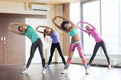 image of stretching  - fitness - JPG