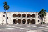 stock photo of conquistadors  - Diego Columbus palace  - JPG