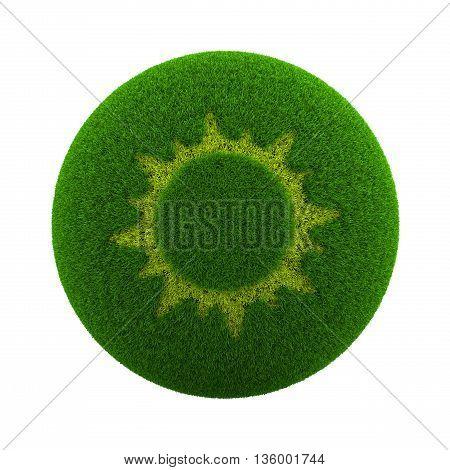 Grass Sphere Summer Icon