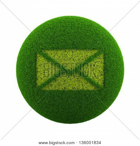 Grass Sphere Mail Icon