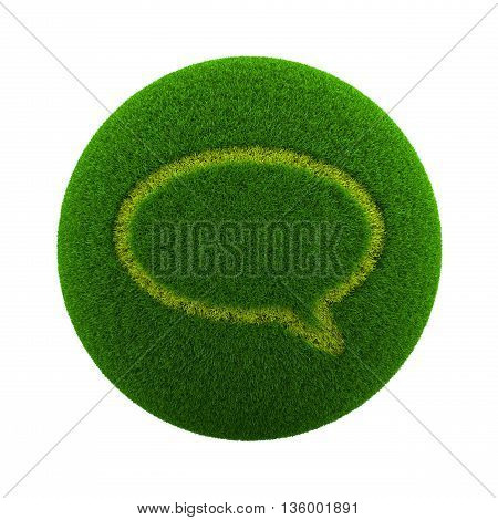 Grass Sphere Chat Icon