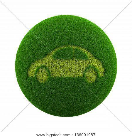 Grass Sphere Car Icon