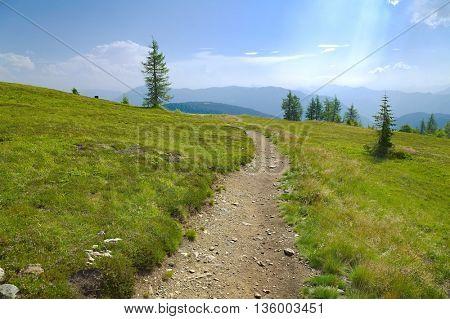 Alpine walk