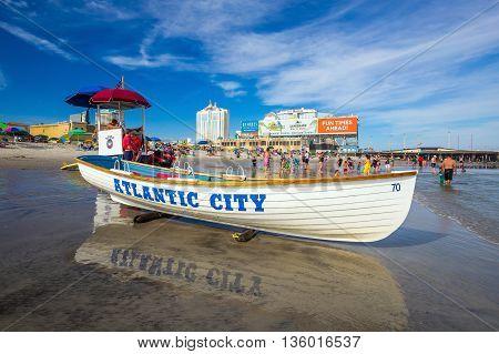 Atlantic City, New Jersey.