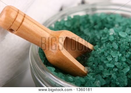 Close-Up Of Bath Salts