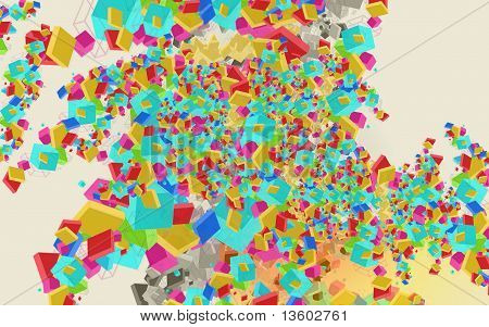Abstract Colourful  Background Design