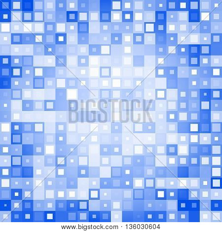 Abstract background from different squares. Vector illustration. Used for your modern design.