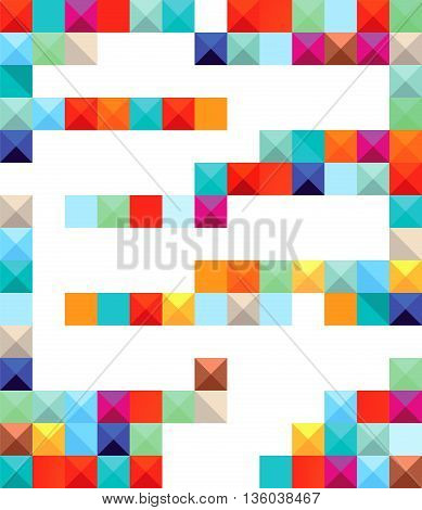 color blocks, colorful, illustration, geometric, structure, background, geometric, structure,