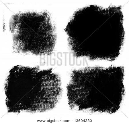 4 Detailed Paint Spots