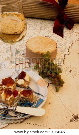 Picnic en el país del vino
